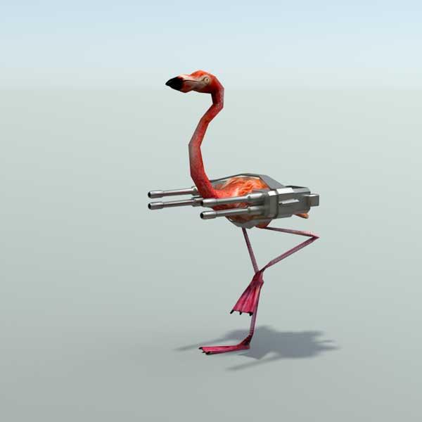 flamingoRender